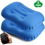 Tobwolf Travel Inflatable Pillow Comfortable Square Ca 121 000 En Mercado Libre