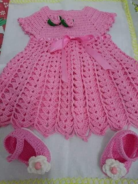 Sapato De Croche Para Bebe