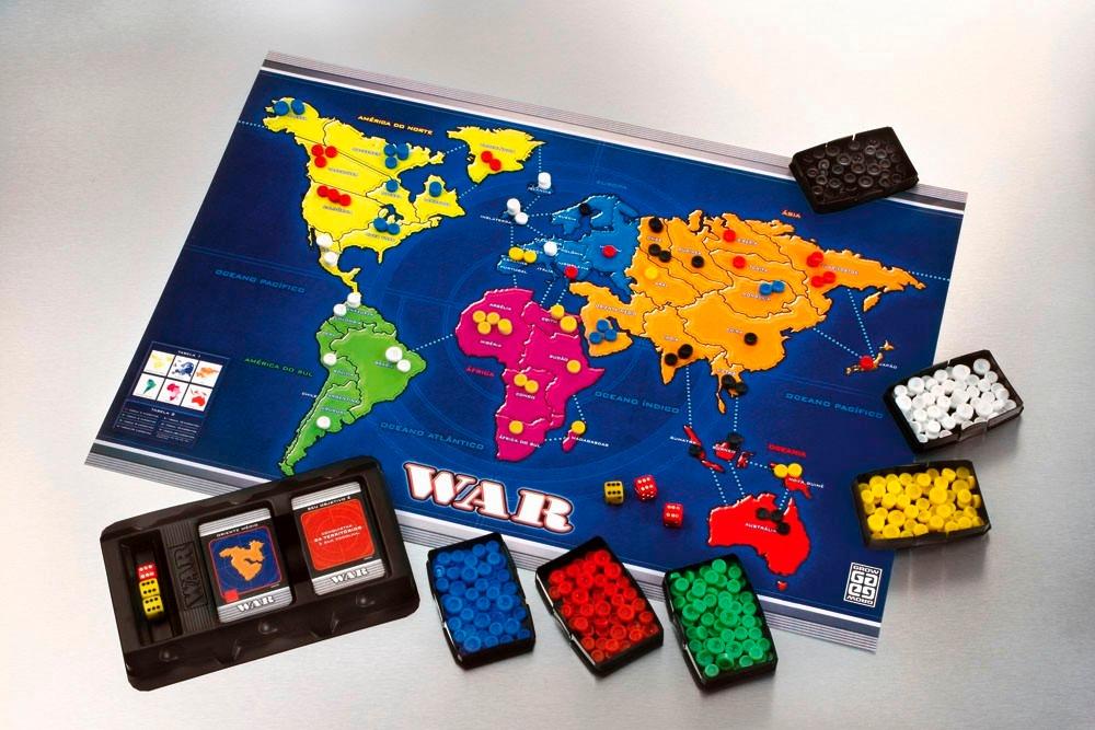 War O Clássico Da Estratégia Jogo De Tabuleiro Grow - R$ 149,90 em ...