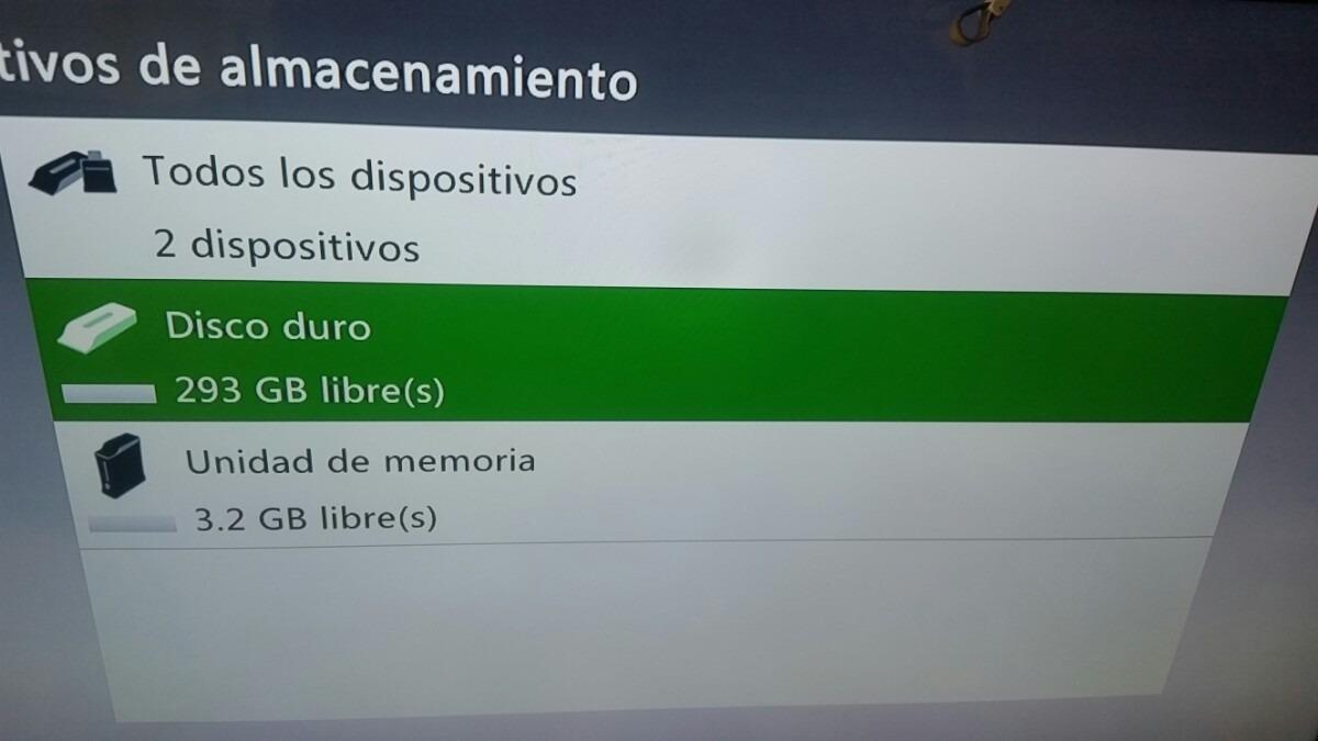 Xbox 360 Disco Duro 320gb Fat Slim S 23000 En