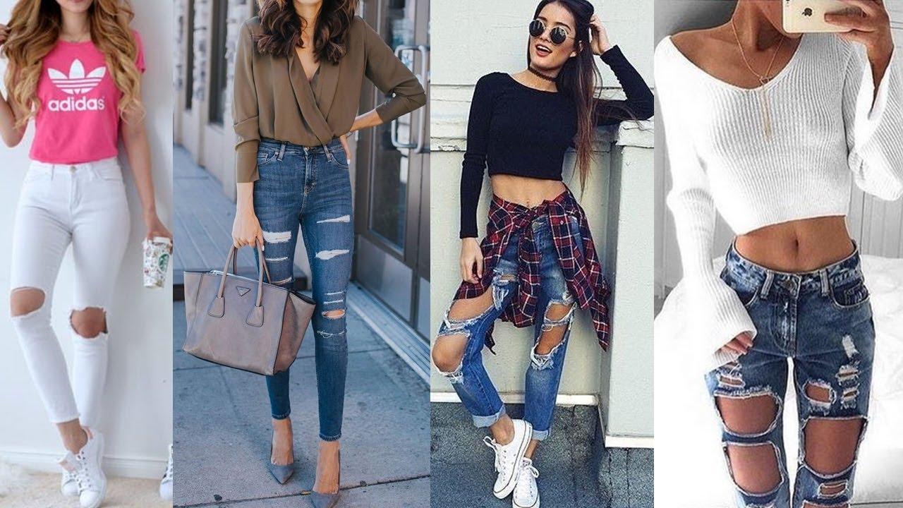 Juvenil Jeans Ropa De Moda Para Mujer Novocom Top