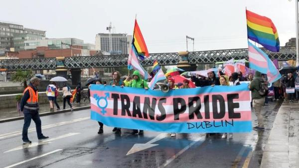 Image result for trans protest