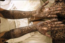 Dulha-Dulhan-Bridal-Mehndi-Design