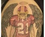 Washington Redskins Sean Taylor Tattoo