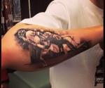 Washington Redskins John Riggins SBXVII Tattoo