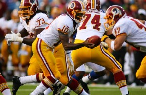 Robert Griffin III Impressive in Short Preseason Debut