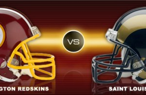 Washington Redskins Vs St. Louis Rams (Promo Video)