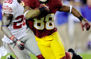 Pierre Garcon Brings Wins to the Redskins