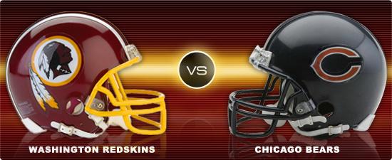 Image result for Redskins vs. Bears