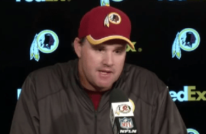 Redskins Post Game Presser: Jay Gruden 9-21-2014
