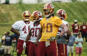 Robert Griffin III Focused on Continuing his Growth as a QB