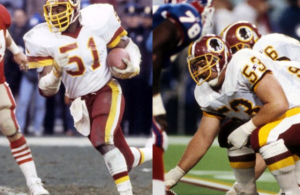 Jeff Bostic & Monte Coleman Will be Inducted Into Redskins Ring Of Fame