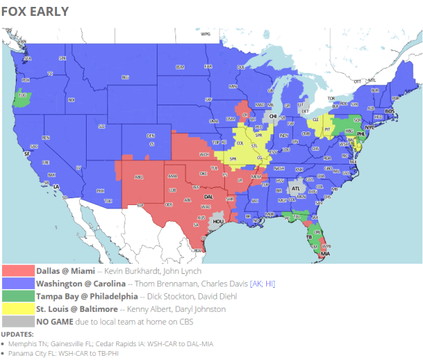 NRG Energy Pre-Game Report - Redskins vs Panthers Week 11