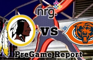 NRG Energy Pre-Game Report - Redskins vs Bears Week 14