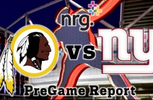 Redskins vs Giants Week 8