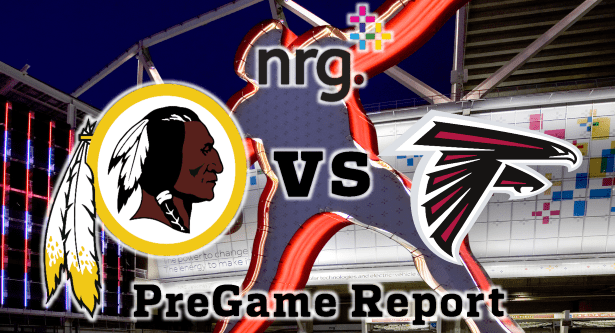 Redskins vs Falcons Week 8