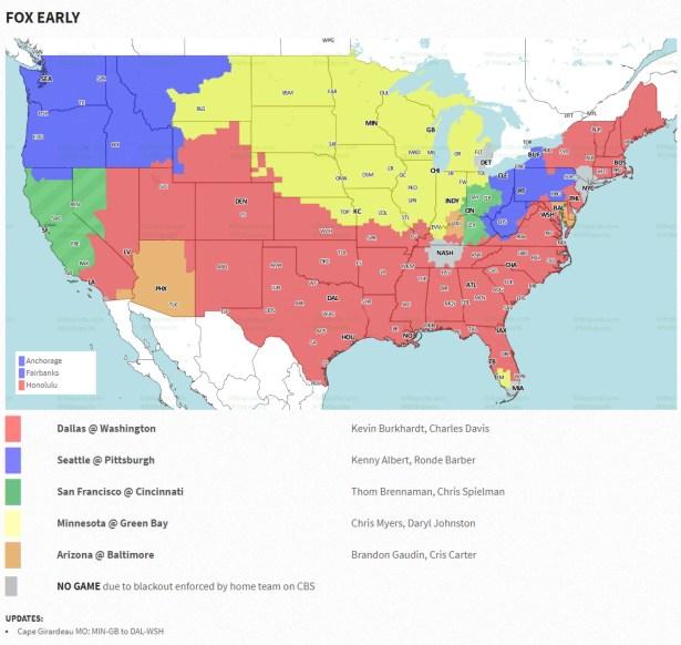 Redskins vs Cowboys Week 2