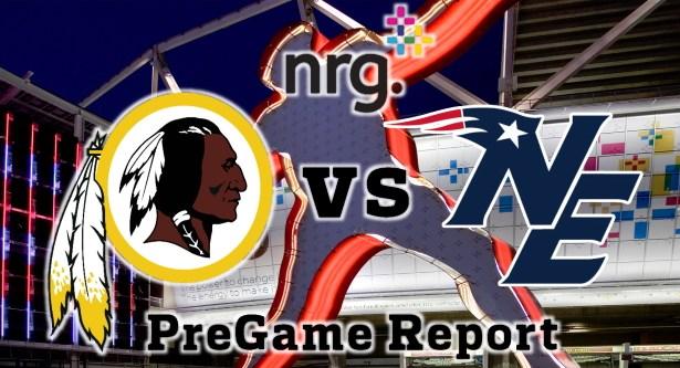 HTTR4LIFE Pre-Game Report - Redskins vs Patriots Week 5