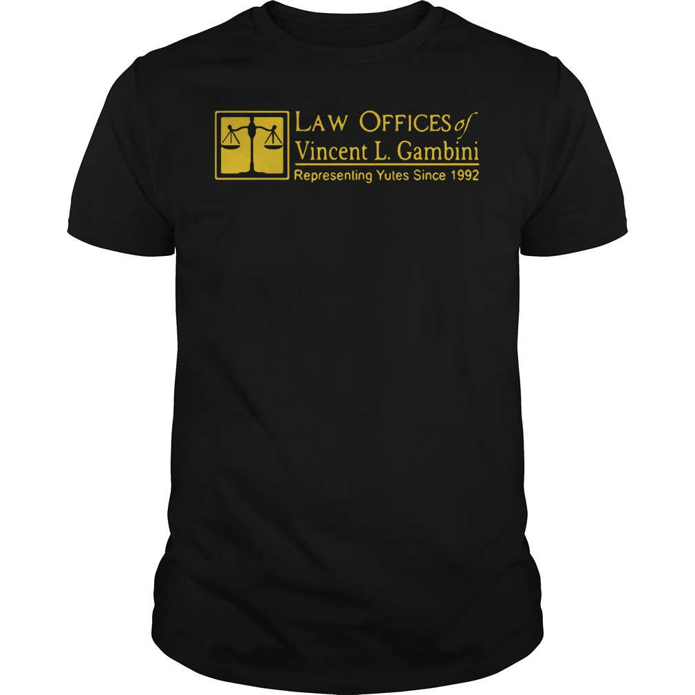 Law offices of Vincent L Gambini shirt