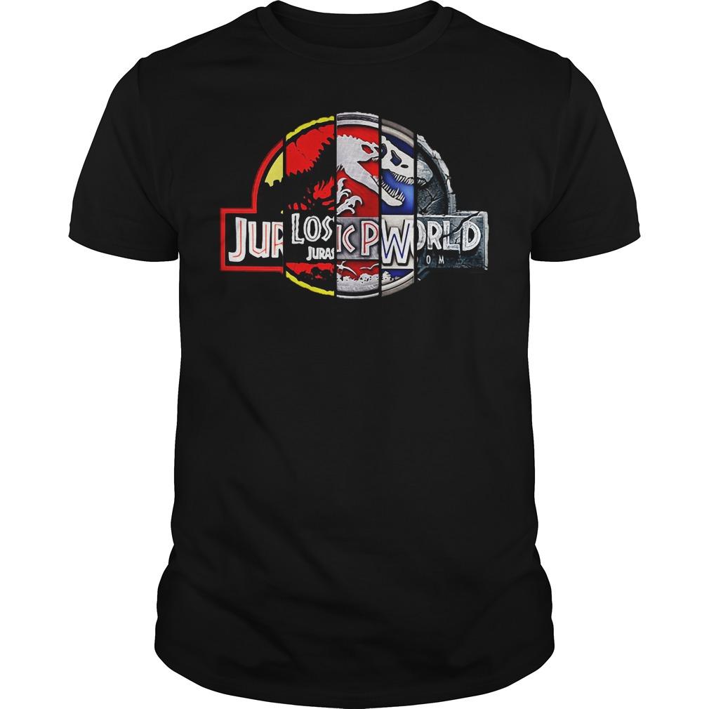 Jurassic park: 25th anniversary shirt