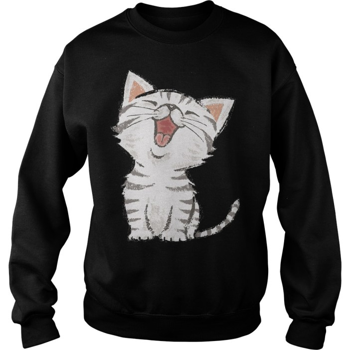 Cat American shorthair happy Sweater