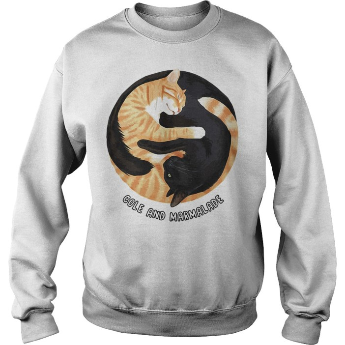 Cole and marmalade cats Sweater