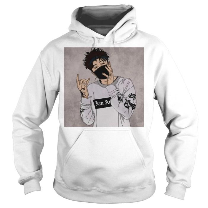 Official Rap Scarlxrd Hoodie