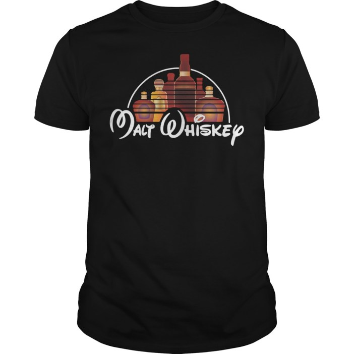 Malt whiskey Disney Guys shirt