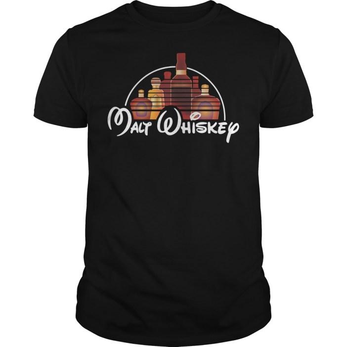 Malt whiskey Disney Guys shirt