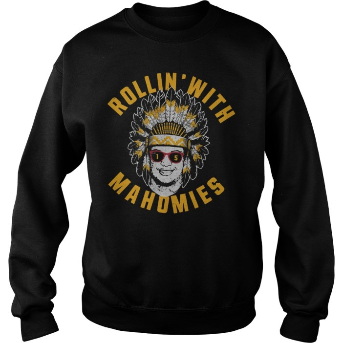 Rollin' With Mahomies Patrick Mahomes Chiefs Inspired Sweater