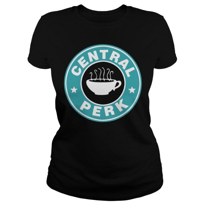 Central perk coffee Ladies tee
