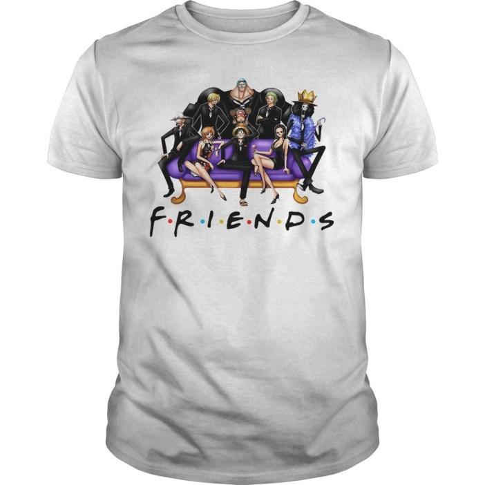 Official One Piece Friends Guys shirt