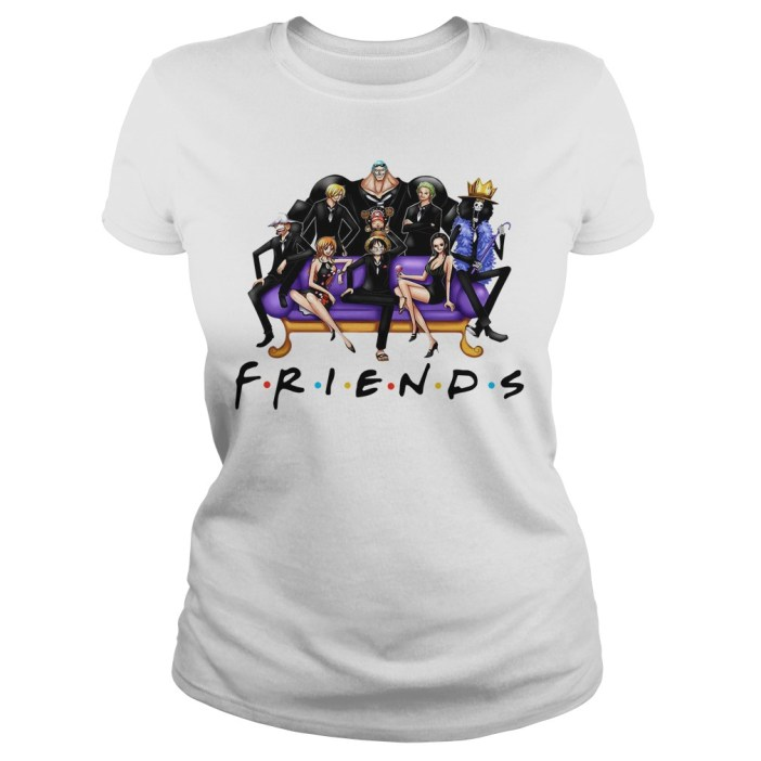 Official One Piece Friends Ladies tee