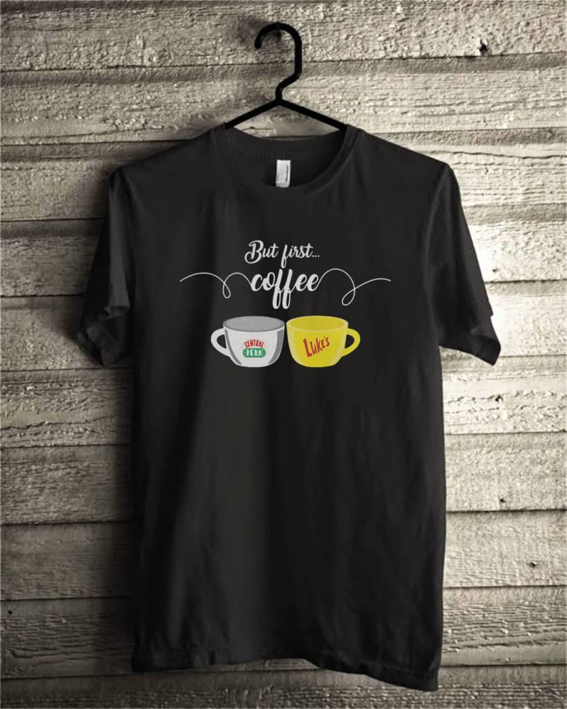 Official But first coffee central perk luke's shirt
