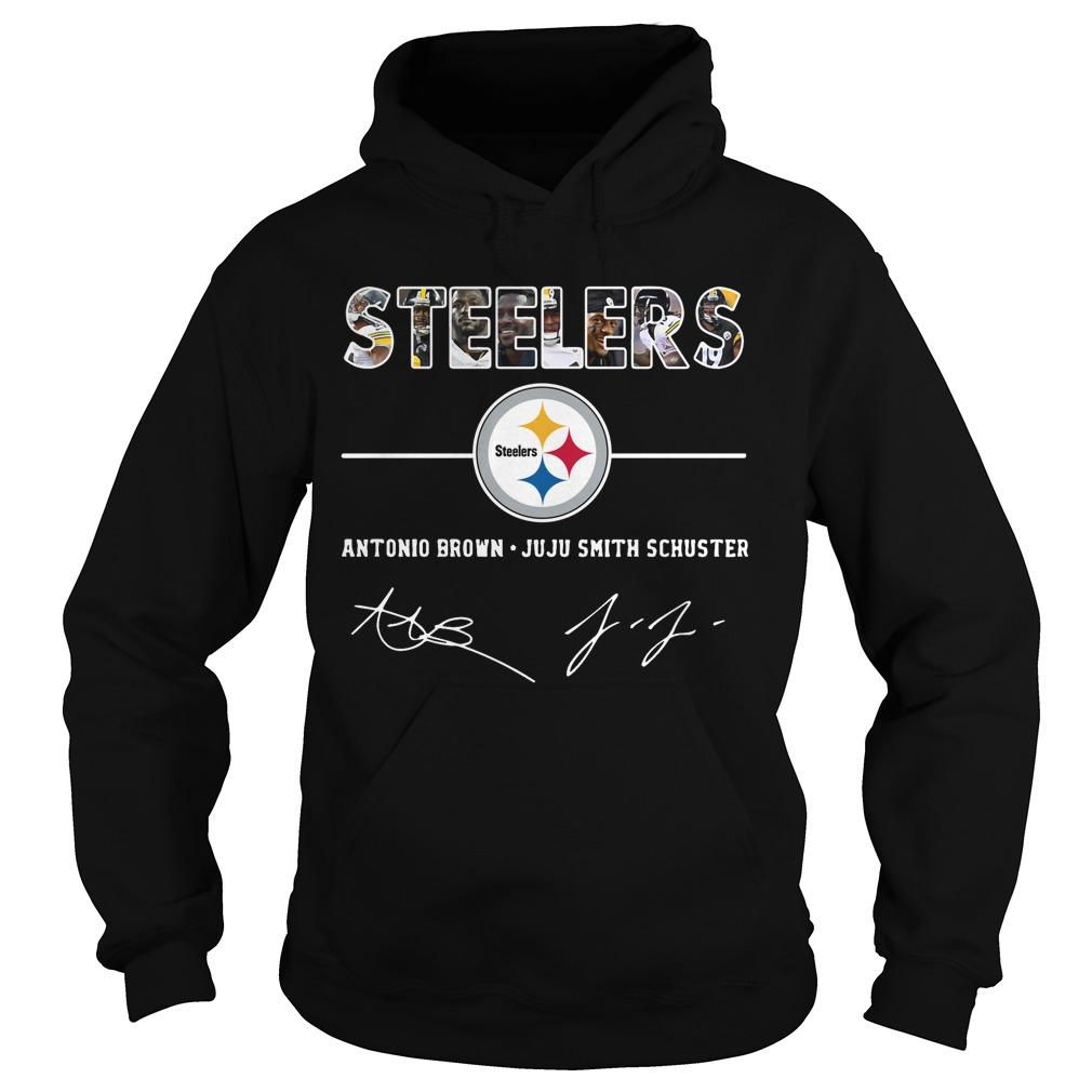 Pittsburgh Steelers antonio brown and Juju smith schuster Hoodie