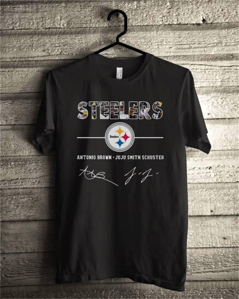Pittsburgh Steelers antonio brown and Juju smith schuster shirt