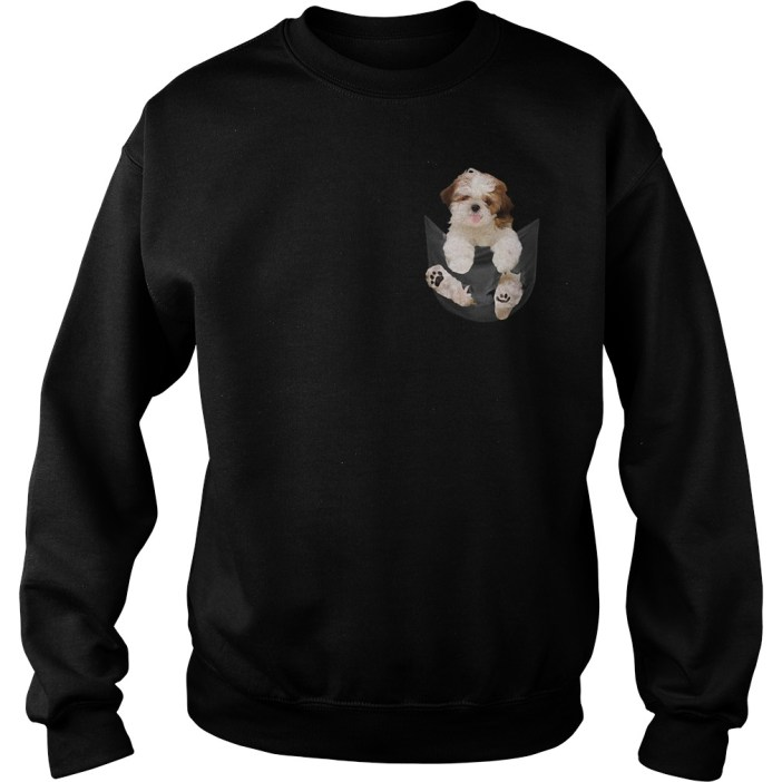 Shih Tzu in your Pocket Sweater
