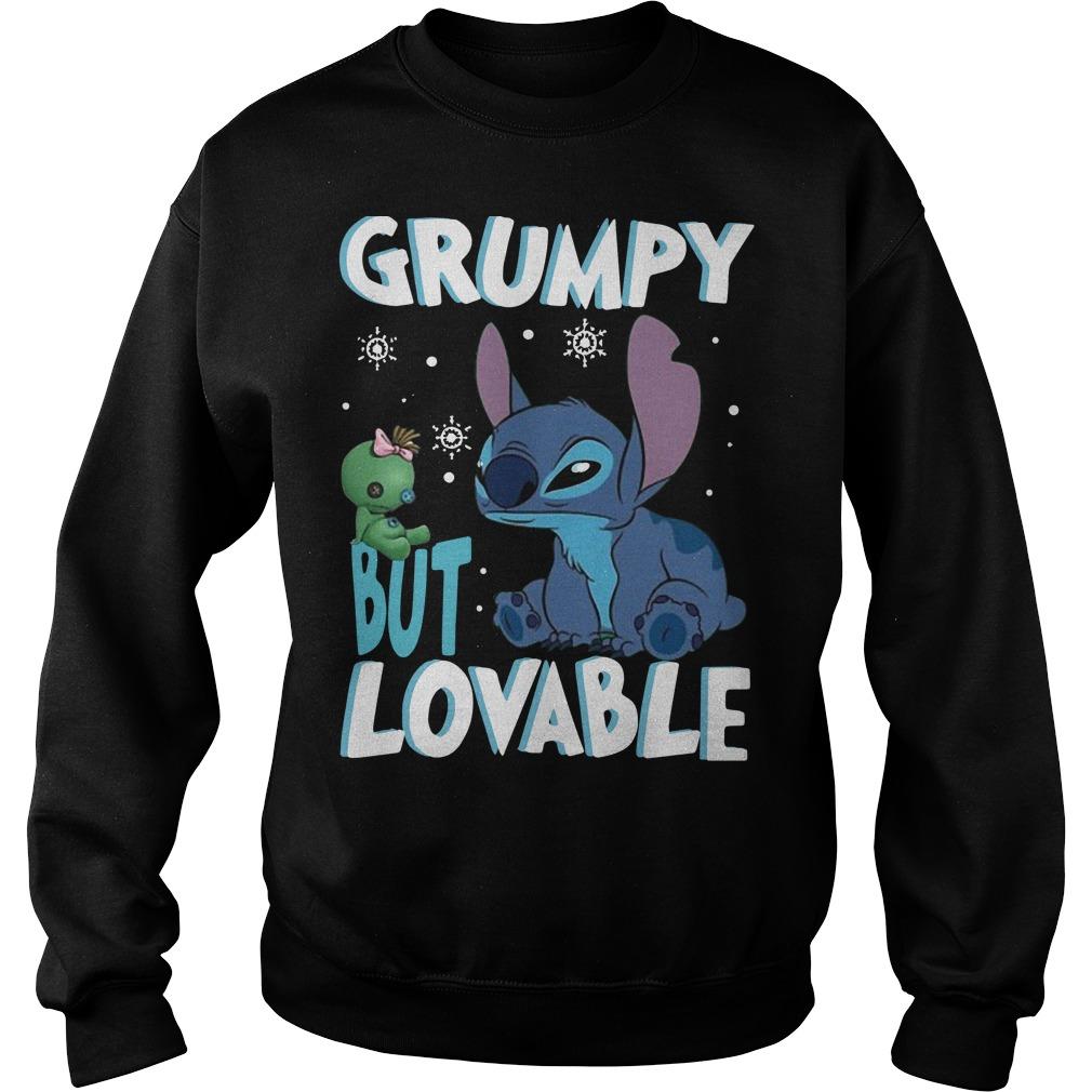 Stitch Grumpy but lovable Sweater
