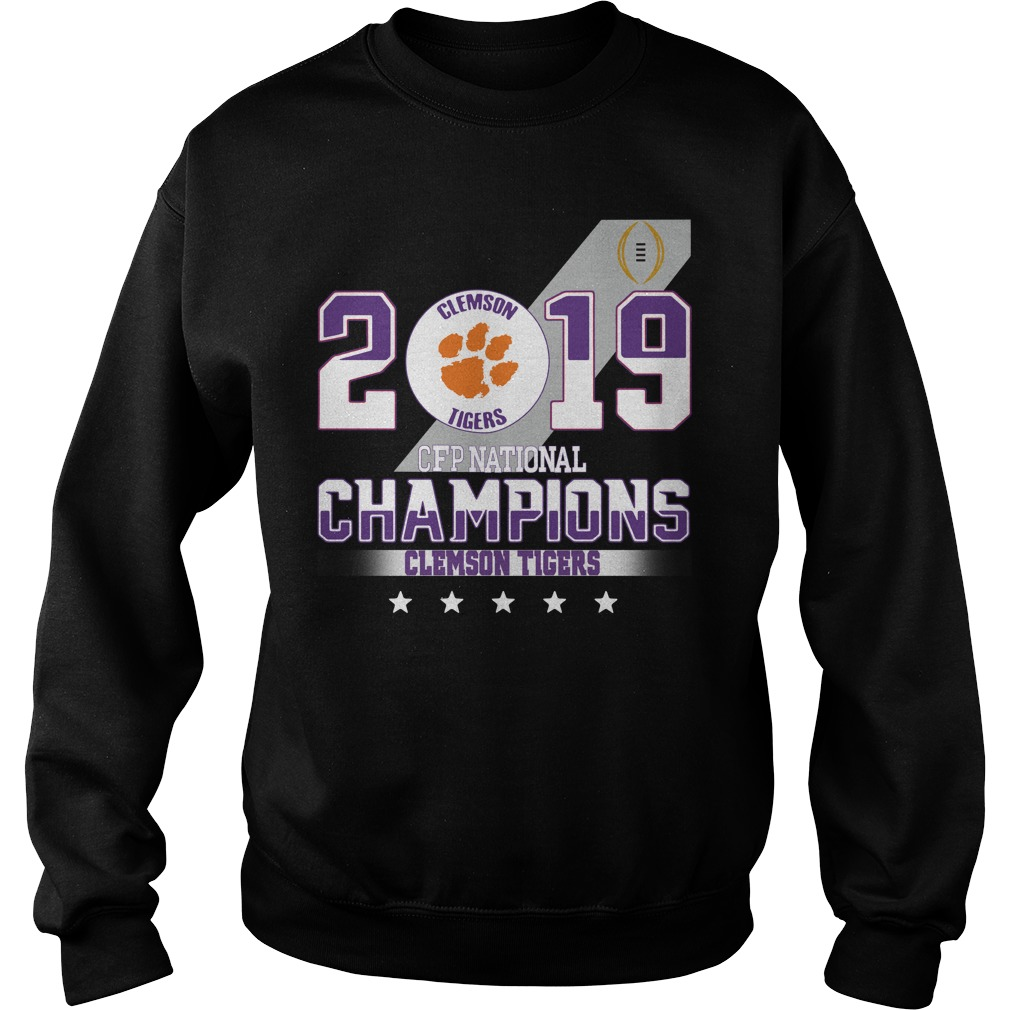 2019 Clemson Tigers CFP national champions Clemson Tigers Sweater