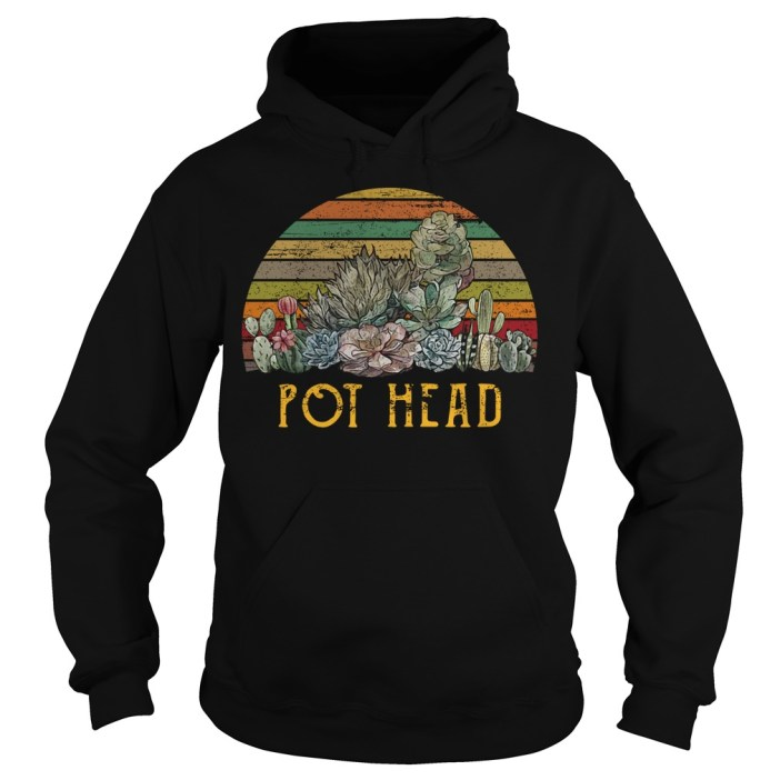 Succulent plants pot head vintage shirtSucculent plants pot head vintage hoodie