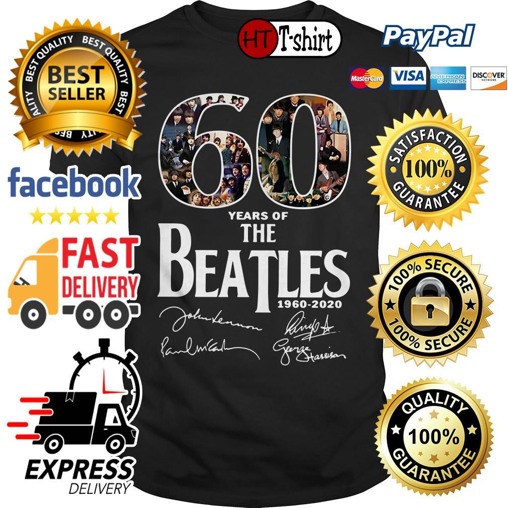 60 Years Of The Beatles 1960-2020 Shirt