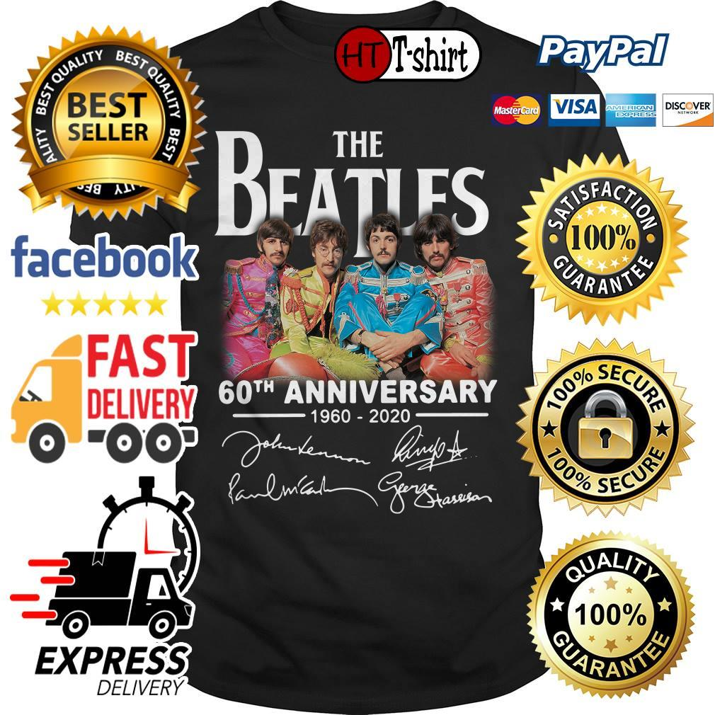 The Beatles 60th anniversary 1960 2020 signature shirt