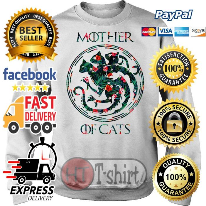 Best Flower mother of cats game of thrones Sweater