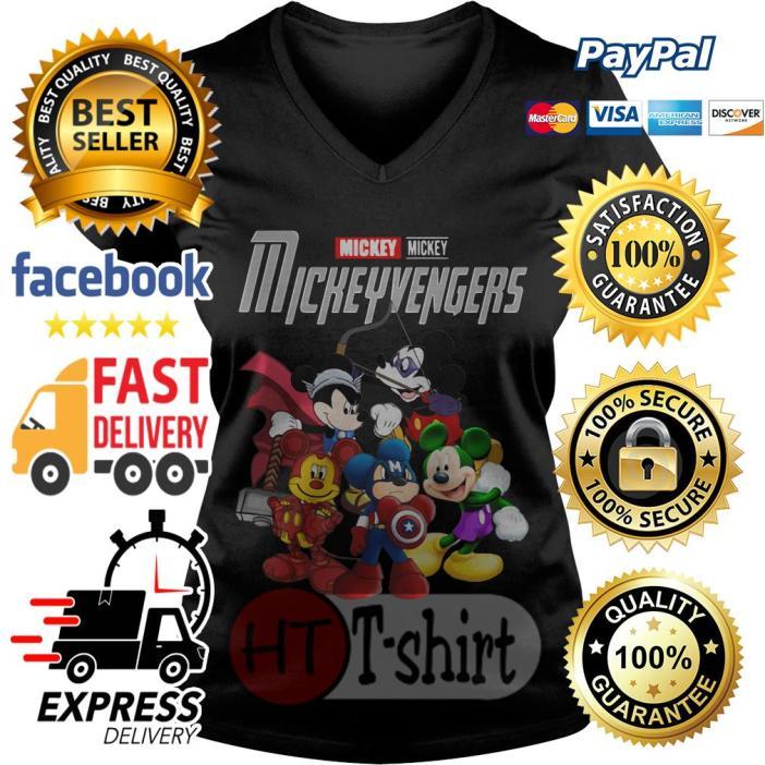 Marvel Avengers Endgame Mickey Mickeyvengers V-neck t-shirt