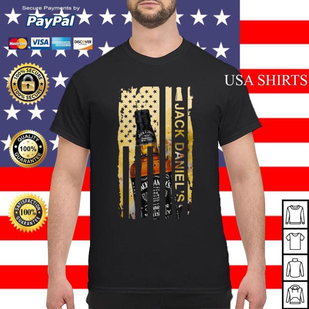 Jack Daniels flag America shirt