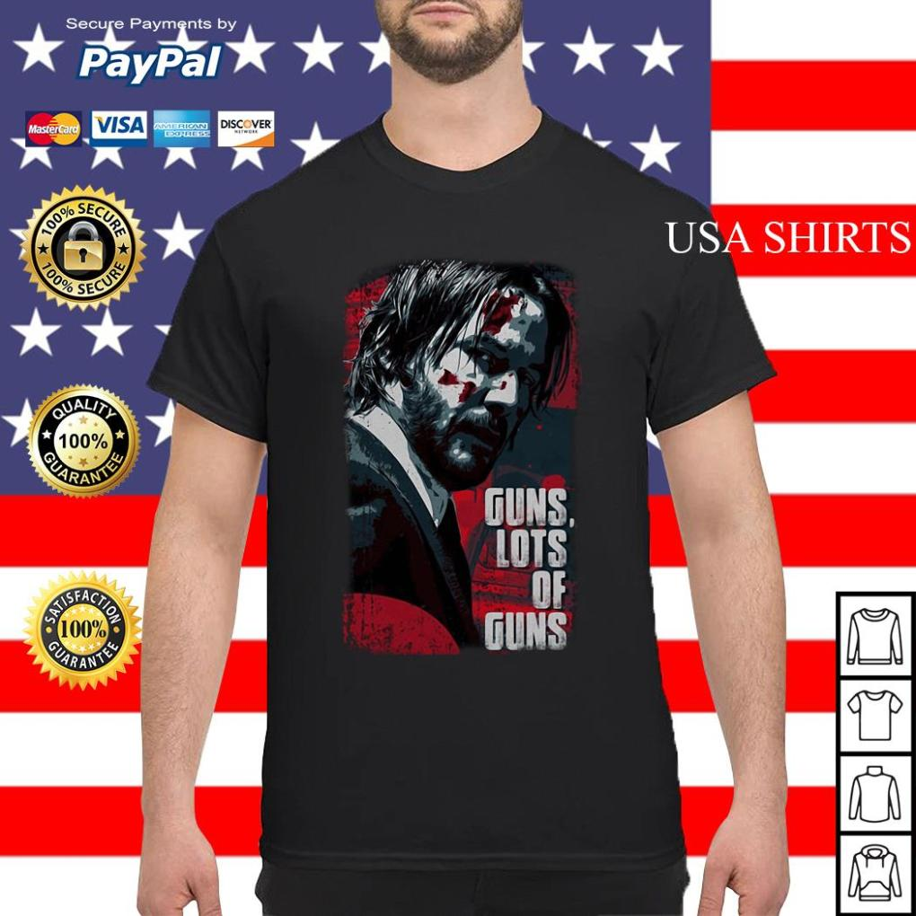 John Wick Guns lots of guns shirt