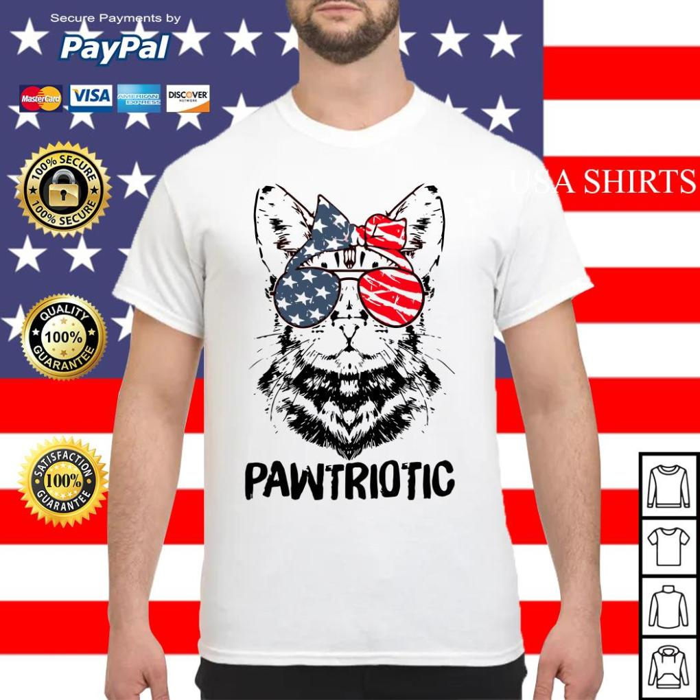 Lady Cat America Patriotic shirt
