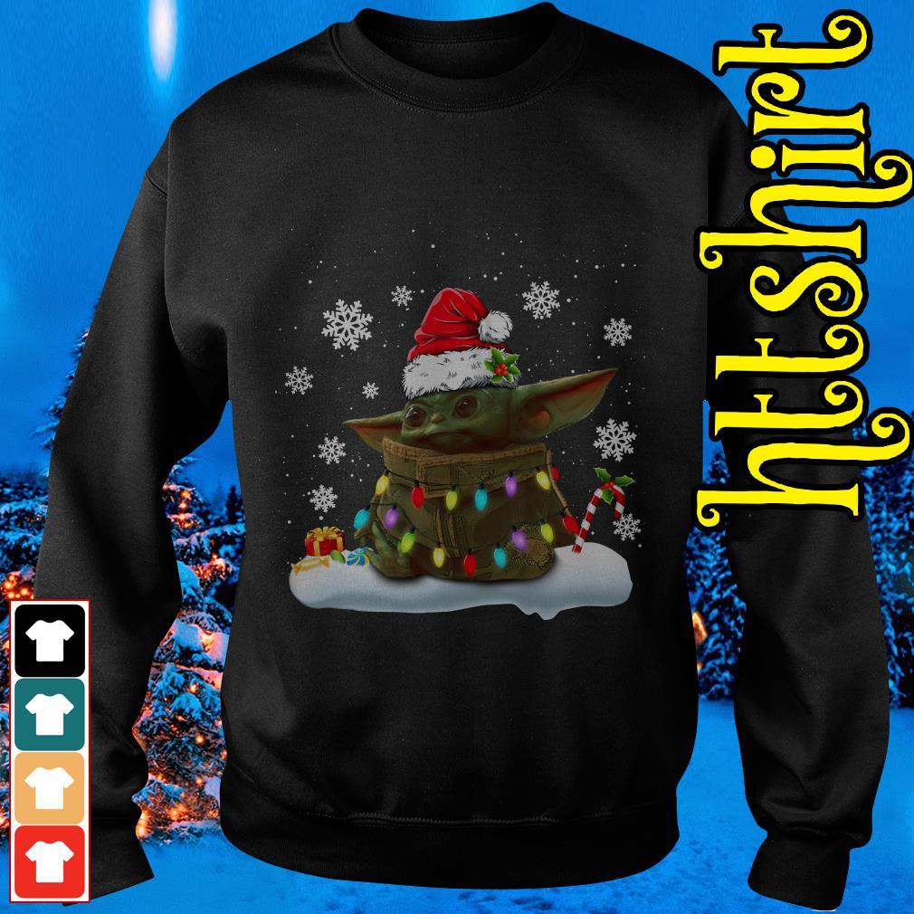 The Mandalorian baby Yoda Christmas Sweater