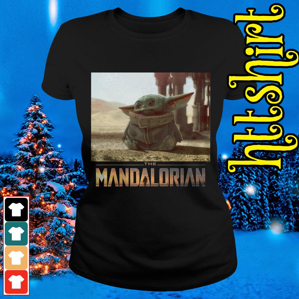 The Mandalorian Baby Yoda Cute I am Adore me you must Ladies tee