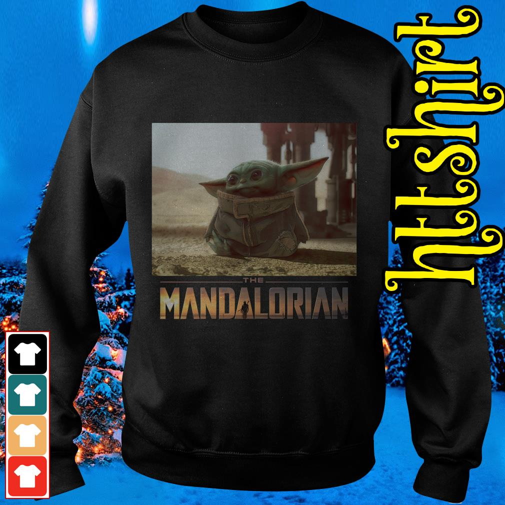The Mandalorian Baby Yoda Cute I am Adore me you must Sweater